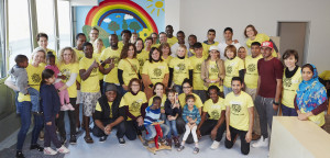 Amway Volunteering Tag 2015_Gruppenfoto